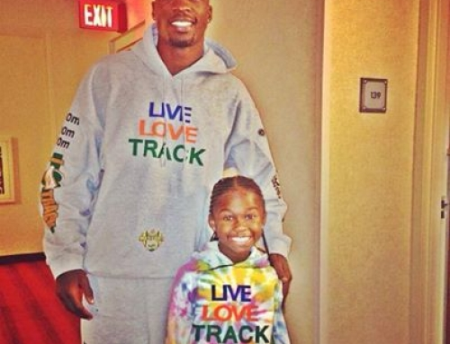 Ocho Cinco is officially a TrackHead!!!
