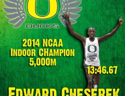 Freshman, Cheserek, wins NCAA 5,000m Indoor National title!